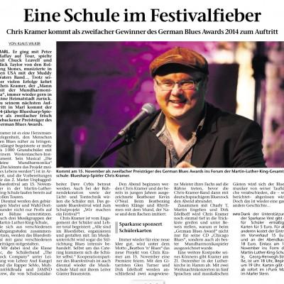 Bluesfestival Marl 2014 Artikel 2